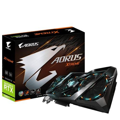 Gigabyte GV-N208TAORUS X-11GC graphics card NVIDIA GeForce RTX 2080 Ti 11 GB GDDR6