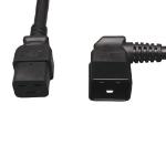 "Tripp Lite P036-002-20RA power cable Black 24"" (0.61 m) IEC C20 IEC C19"