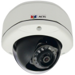 ACTi D72A IP security camera Outdoor Dome White security camera