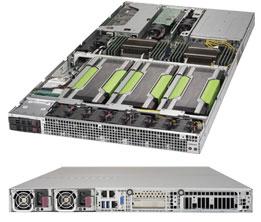 Supermicro SuperServer 1029GQ-TRT Intel® C621 LGA 3647 Rack 1U Black