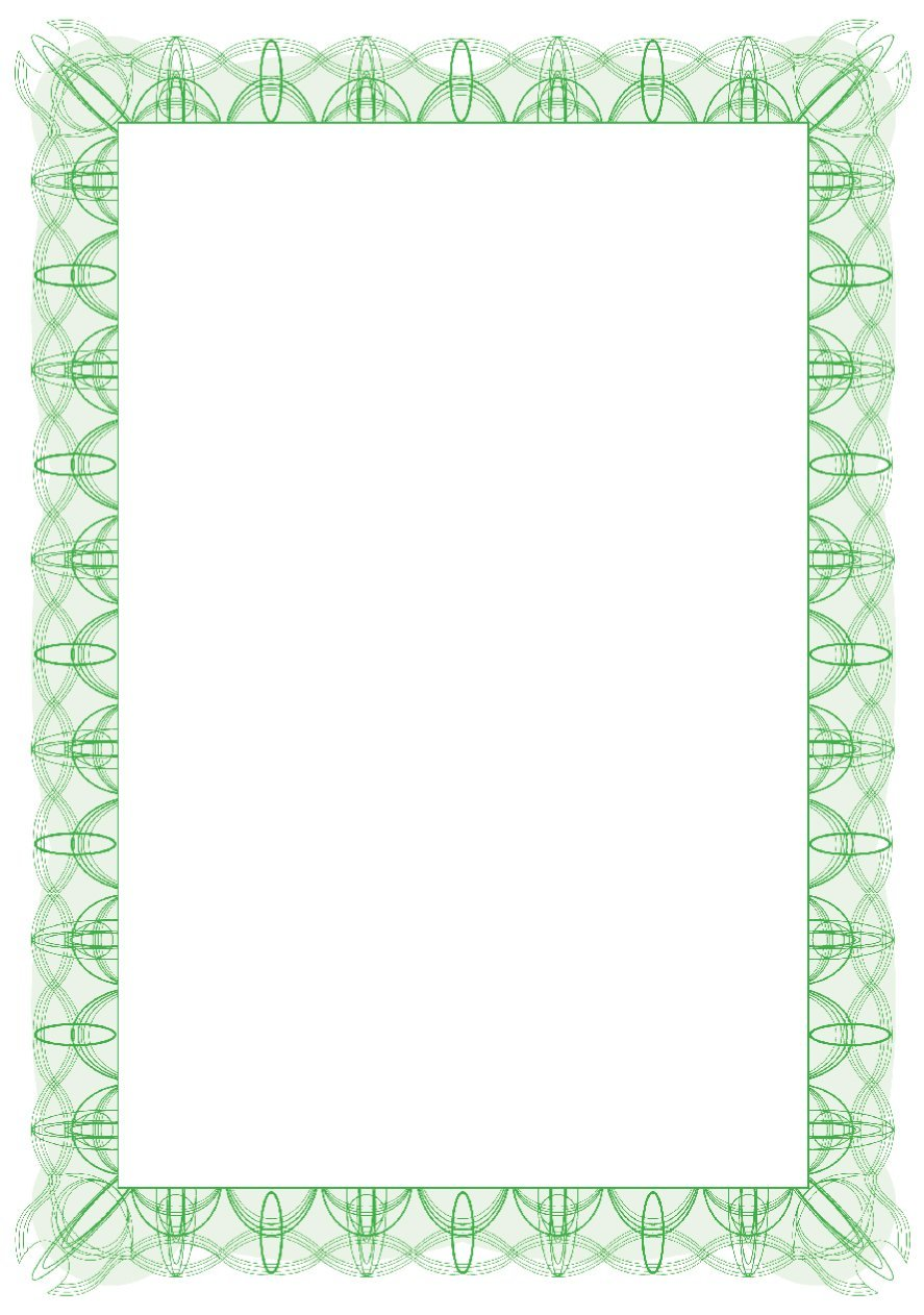 Computer Craft Green Reflex A4 Certificate Paper PK30