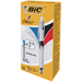 BIC 4 Colour Multifunction Ballpoint Pen with Pencil Black Blue Red Ink Ref 942104 [Pack 12]