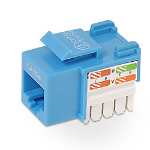 Belkin Cat5e Keystone Jack Blue cable interface/gender adapter