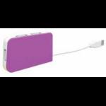 Approx APPHT4 480Mbit/s Purple,White interface hub