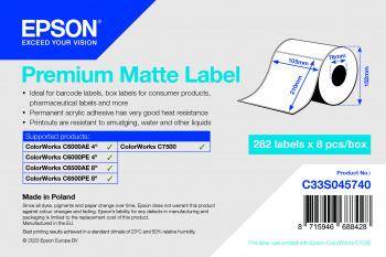 Epson C33S045740 etiqueta de impresora Etiqueta para impresora autoadhesiva