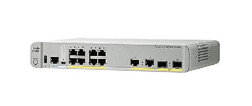 Cisco WS-C3560CX-8PC-S switch Gestionado Gigabit Ethernet (10/100/1000) Blanco Energía sobre Ethernet (PoE)