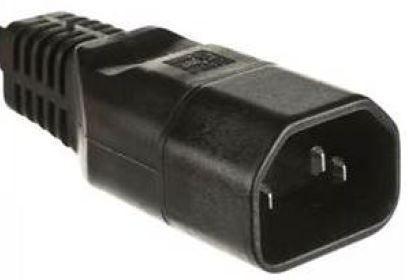 Microconnect C14PLUG power plug adapter C14 Black