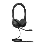 Jabra Evolve2 30, MS Stereo Headset Head-band USB Type-A Black