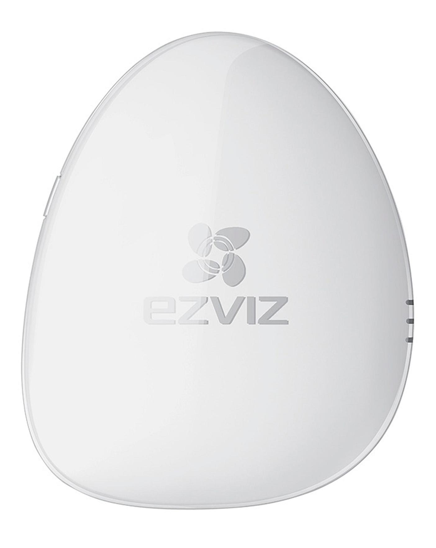 EZVIZ ezAlert Wireless Smart Home Alarm Hub with ezAlert Remote, works with IFTTT (UK SPEC)
