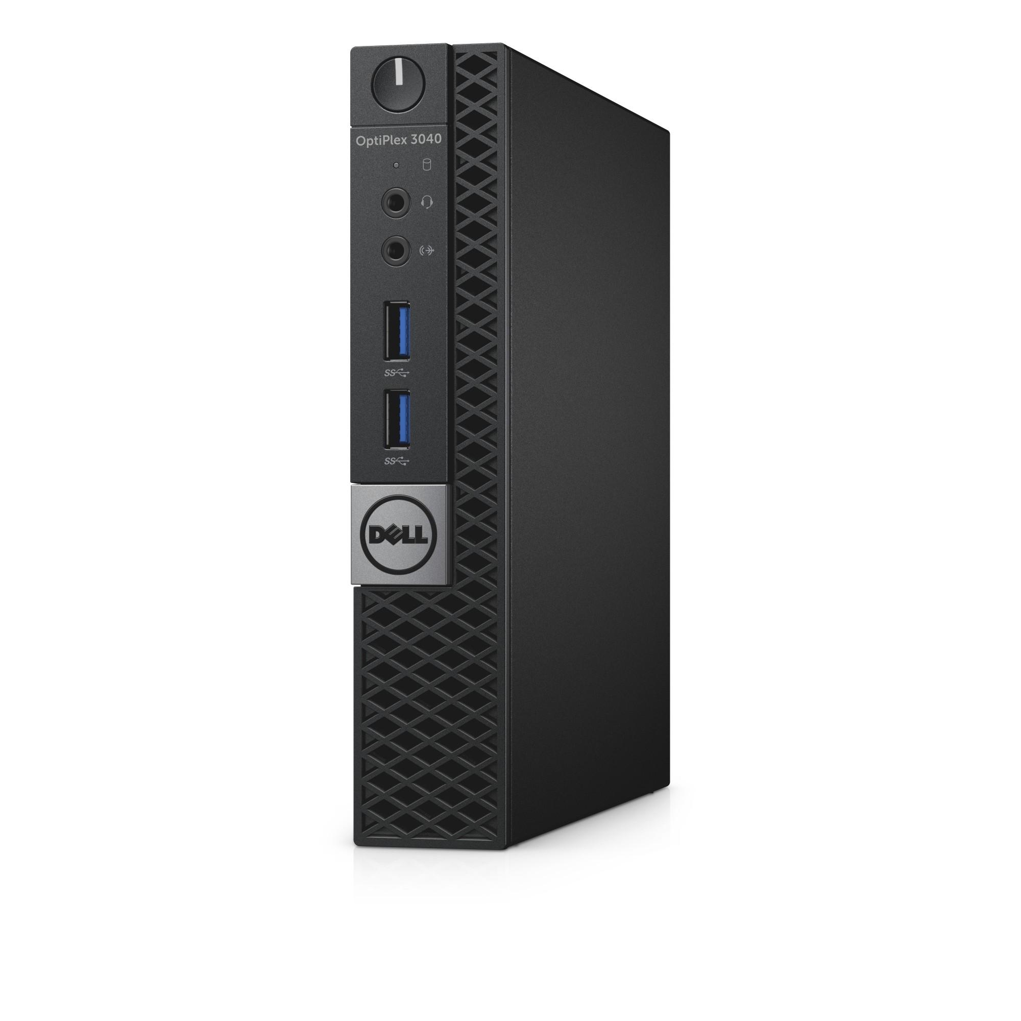 DELL OptiPlex 3040 3.2GHz i3-6100T 1.2L sized PC Black Mini PC