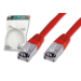 Digitus Patch Cable, SFTP, CAT5E, 5M, red networking cable