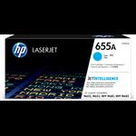 HP CF451A (655A) Toner cyan, 10.5K pages