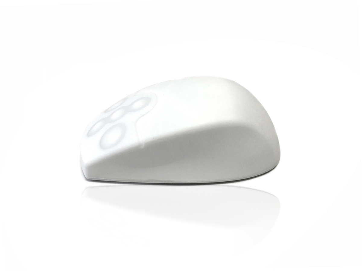 Accuratus AccuMed RF RF Wireless Ambidextrous White mice