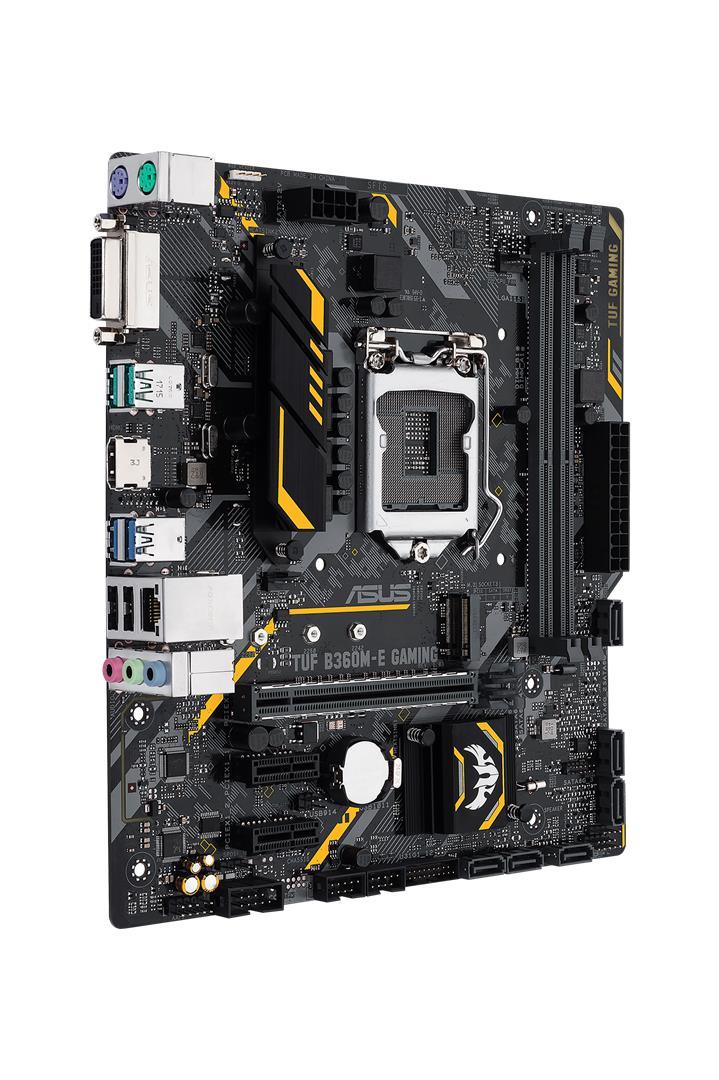 MB Int TUF B360M E Gam DDR4 MATX