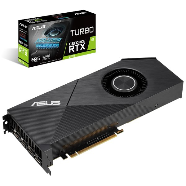 ASUS TURBO-RTX2070-8G-EVO graphics card GeForce RTX 2070 8 GB GDDR6