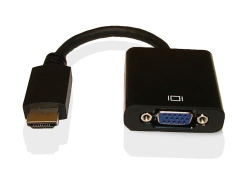 Fujitsu VGA Conversion Cable 0.180 m HDMI Black
