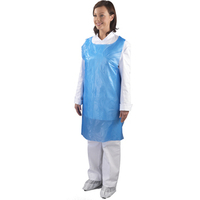 SHIELD BLUE APRONS IN DISP BLUE PK1000