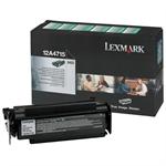 Lexmark 12A4715 Toner black, 12K pages
