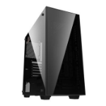 GAMEMAX Crusader Black Mid Tower Chassis with Window/s ATX MicroATX Mini-ITX Audio  Mic In USB 2.0 2X USB 3.