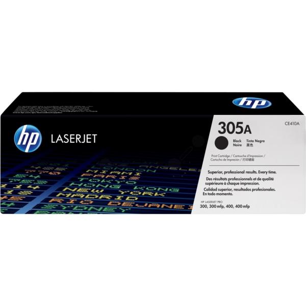 HP CE410A (305A) Toner black, 2.2K pages