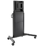 """Chief XPD1U flat panel floorstand 100"""" Portable flat panel floor stand Black"""