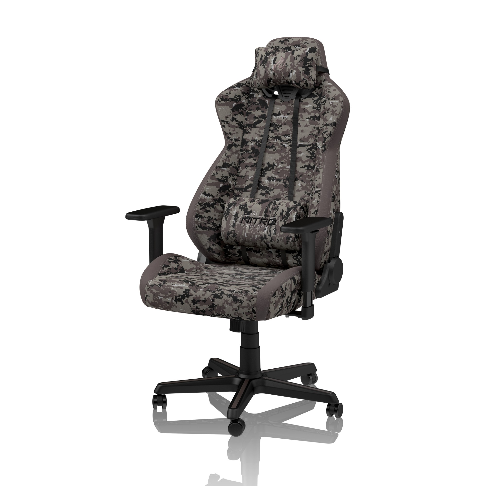 Nitro Concepts S300 Padded Seat Backrest Office Computer Chair