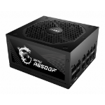 MSI MPG A650GF UK PSU '650W, 80 Plus Gold certified, Fully Modular, 100% Japanese Capacitor, Flat Cables, ATX , UK Powercord, Black, Support Latest GPU'