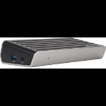 Targus DOCK130USZ notebook dock/port replicator USB 3.0 (3.1 Gen 1) Type-A Black, Silver