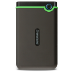 Transcend StoreJet 25MC external hard drive 2000 GB Green, Grey