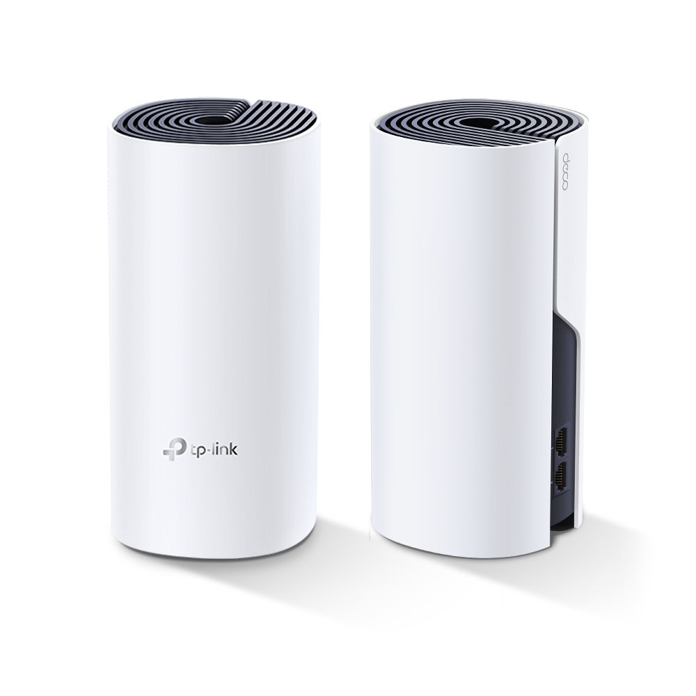 TP-LINK Deco P9 (2-pack) Blanco Interno Doble banda (2,4 GHz / 5 GHz) Wi-Fi 5 (802.11ac)
