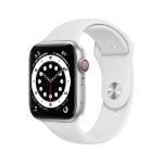 Apple Watch Series 6 OLED 44 mm Silver 4G GPS (satellite)