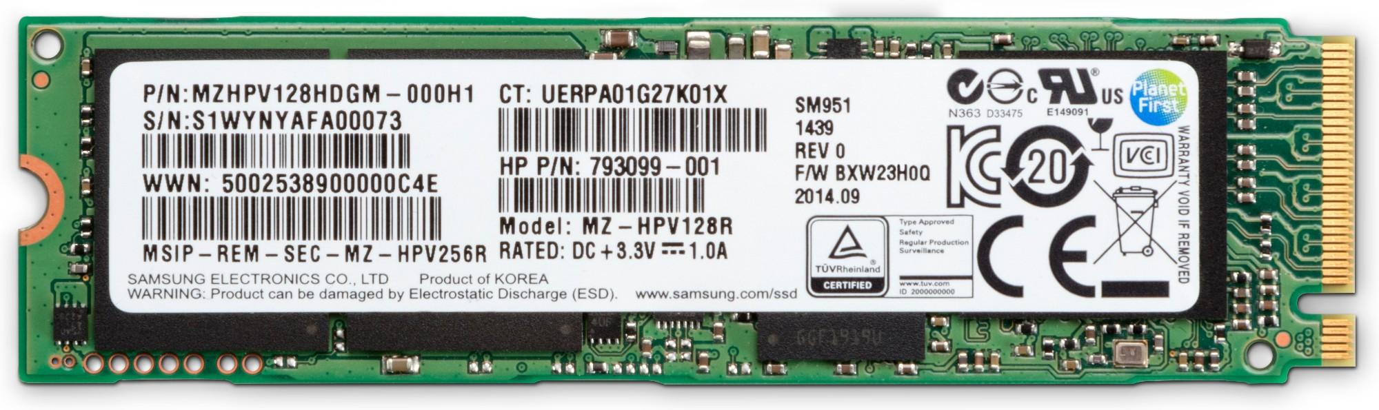 HP Z Turbo Drive 256 GB TLC (Z4/Z6 G4) SSD-Kit