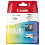 Canon 5225B007 (540 541) Printhead multi pack, 180 pages, 8ml + 8ml, Pack qty 2