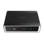 Zotac ZBOX CA621 nano 3200U 2.6 GHz Black,Silver