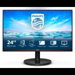 "Philips V Line 241V8L/00 LED display 60.5 cm (23.8"") 1920 x 1080 pixels Full HD Black"