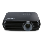 Acer Essential X1326WH data projector 4000 ANSI lumens DLP WXGA (1280x800) Ceiling-mounted projector Black