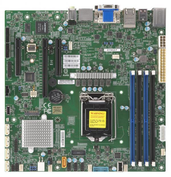 Supermicro MBD-X11SCZ-F motherboard Intel C246 LGA 1151 (Socket H4) ATX
