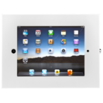 SecurityXtra SecureDock Uno Flat White tablet security enclosure