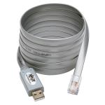 Tripp Lite U209-006-RJ45-X cable interface/gender adapter USB Silver