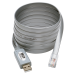 Tripp Lite USB to RJ45 Cisco Serial Rollover Cable, USB Type-A to RJ45 M/M, 1.83 m