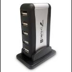 DYNAMODE USB-H70-1A2.0 External 7-Port USB 2.0 Hub Mains Powered RetailZZZZZ], USB-H70-1A2.0