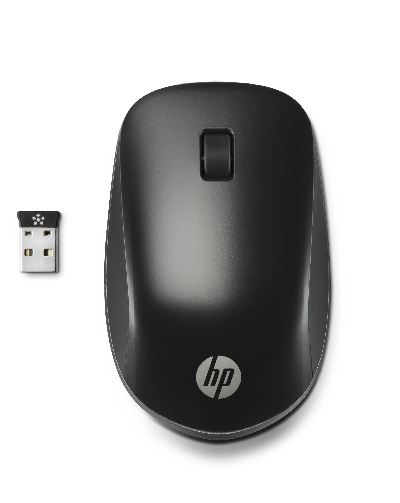 HP Ultra Mobile Wireless mouse Ambidextrous RF Wireless Optical 1200 DPI
