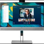 "HP EliteDisplay E243m LED display 60.5 cm (23.8"") Full HD Flat Black,Silver"