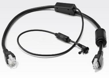 Zebra 25-85991-01R cable de transmisión Negro