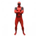 Marvel Deadpool Basic Adult Cosplay Costume Morphsuit, Extra Large, Multi-Colour (MLDPVX-XL)