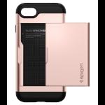 """Spigen Slim Armor CS mobiele telefoon behuizingen 11,9 cm (4.7"""") Hoes Roze goud"""
