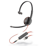POLY Blackwire 3215 Headset Head-band 3.5 mm connector USB Type-A Black