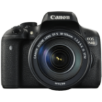 Canon EOS 750D + 18-135mm IS STM SLR Camera Kit 24.2MP CMOS 6000 x 4000pixels Black