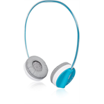 Rapoo H6020 Binaural Head-band Blue headset
