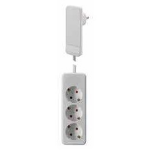Bachmann 933.007 power extension 1.6 m 3 AC outlet(s) Indoor White